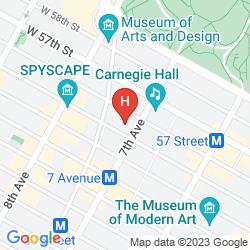 Mapa WEST HOUSE HOTEL NEW YORK