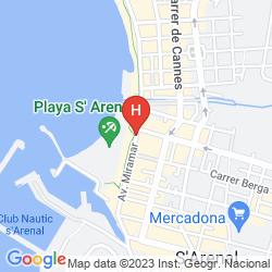 Mapa WHALA! BEACH