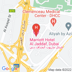 Mapa MARRIOTT HOTEL AL JADDAF, DUBAI