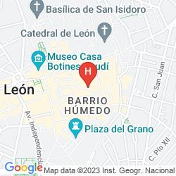 Mapa LE PETIT LEÓN
