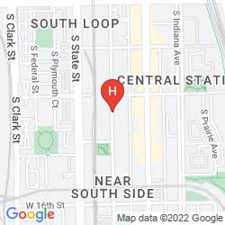 Mapa 'SUITE' HOME SOUTH LOOP