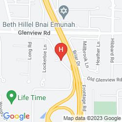 Mapa RESIDENCE INN CHICAGO WILMETTE