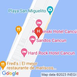 Mapa JW MARRIOT CANCUN RESORT & SPA