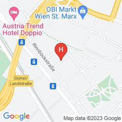 Mapa ACTILINGUA APARTMENT HOTEL