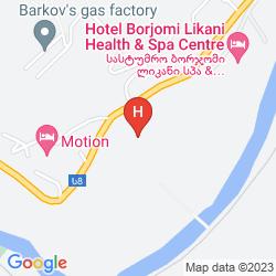Mapa RIXOS BORJOMI