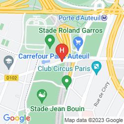 Mapa MOLITOR PARIS BY MGALLERY