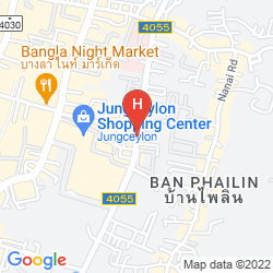 Mapa ALEXANDER HOTEL PATONG