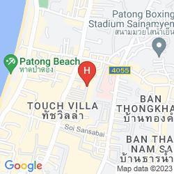 Mapa THE CORNER HOTEL