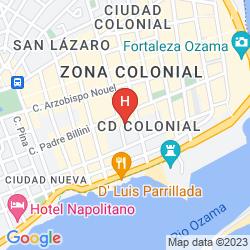 Mapa BILLINI HOTEL