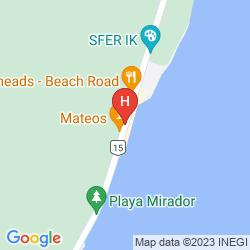 Mapa TULUMBAY HOTEL