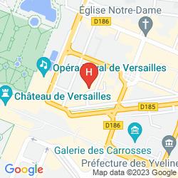 Mapa LE VERSAILLES