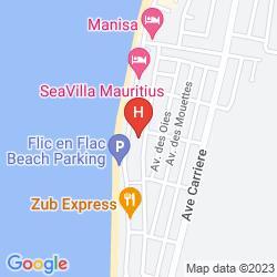 Mapa WHITE SHELL LOUNGE AND RESTAURANT
