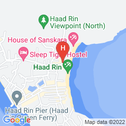 Mapa PHANGAN BAYSHORE RESORT