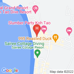 Mapa SAIREE HUT DIVE RESORT