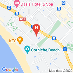 Mapa ROYAL MIRAGE AGADIR