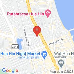 Mapa ROYAL PAVILION HUAHIN