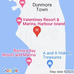 Mapa TINGUM VILLAGE HOTEL