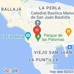 Mapa MONASTERY ART HOTEL