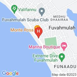 Mapa VILUXER RETREAT FUVAHMULAH