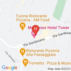Mapa MONTRESOR TOWER