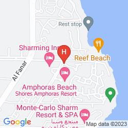 Mapa SHORES ALOHA