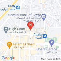 Mapa CAIRO KINGDOM HOTEL