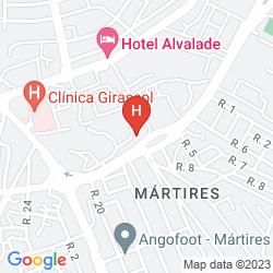 Mapa EXECUTIVE HOTEL SAMBA