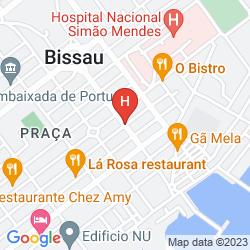 Mapa COIMBRA HOTEL AND SPA