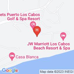 Mapa SECRETS PUERTO LOS CABOS GOLF & SPA RESORT