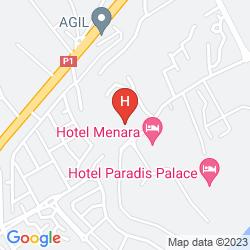 Mapa LA COURONNE
