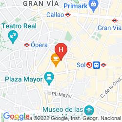 Mapa PETIT PALACE ARENAL