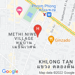 Mapa THE DAVIS BANGKOK