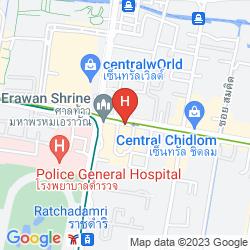 Mapa INTERCONTINENTAL BANGKOK