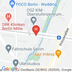 Mapa MK HOTEL BERLIN