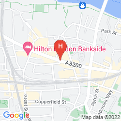 Mapa MERCURE LONDON BRIDGE