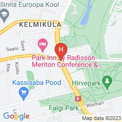 Mapa THE VON STACKELBERG HOTEL TALLINN