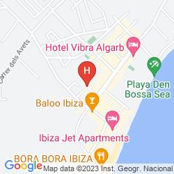 Mapa TROPICANA IBIZA SUITES