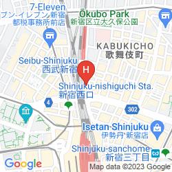 Mapa SHINJUKU PRINCE