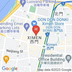 Mapa DIARY OF TAIPEI WANGUO