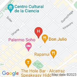Mapa ECO PAMPA HOSTEL