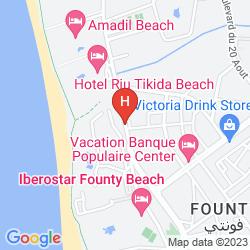 Mapa ATLANTIC PALM BEACH