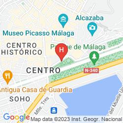 Mapa AC MALAGA PALACIO