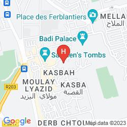 Mapa RIAD DAR MASSAI