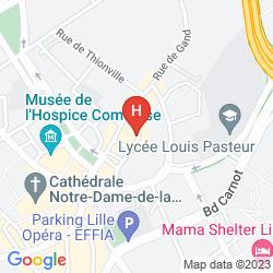 Mapa MERCURE LILLE CENTRE VIEUX LILLE