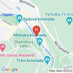 Mapa BOUTIQUE SPA HOTEL AQUA MARINA