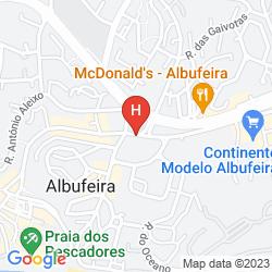 Mapa ALBUFEIRA BEACH