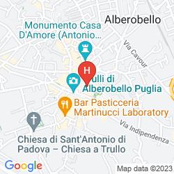 Mapa TIPICO RESORT IN TRULLI