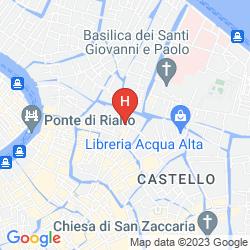 Mapa AI CAVALIERI DI VENEZIA