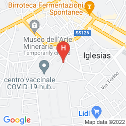 Mapa EURO HOTEL IGLESIAS