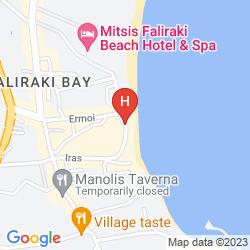 Mapa TINA'S STUDIOS